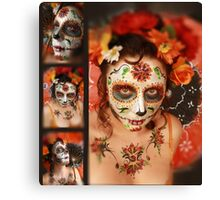 dia De Los muertos- day of the dead 16 Canvas Print
