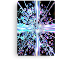 Crystal Cathedral Fractal Canvas Print