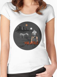 VOLATILE Women's Fitted Scoop T-Shirt