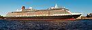 "Cunard Queen Victoria - Sydney Harbour - 30"" x 10"" Panorama by DavidIori"