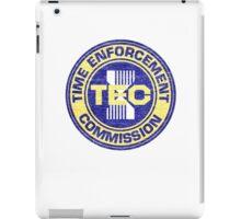 Time Enforcement Commission iPad Case/Skin