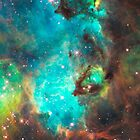 Green Galaxy by rapplatt
