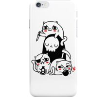 Death Is A Cat Person iPhone Case/Skin