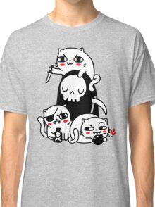 Death Is A Cat Person Classic T-Shirt