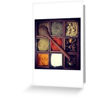 Flavours of India Greeting Card