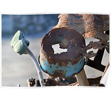 Rusty Findings at Low Tide............ Poster