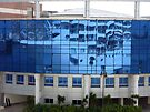 Reflections of the Royal ~ Cruise Terminal  Alexandria Egypt by Lucinda Walter