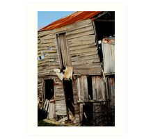 Barn, Geelong Art Print