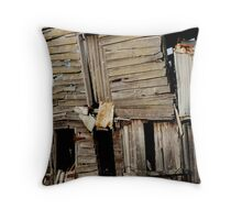 Barn, Geelong Throw Pillow