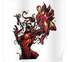Iron man vs carnage Poster