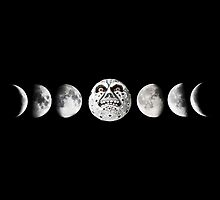 Phases of the Moon by triforkce