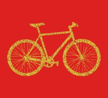 Fixie Bike Bling Kids Tee