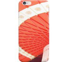 Japanese Shrine Umbrella iPhone Case/Skin