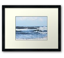 The Curl Framed Print