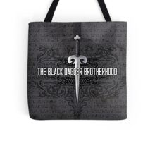 The Black Dagger Brotherhood  [white text] Tote Bag