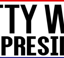 Fetty Wap For President Sticker