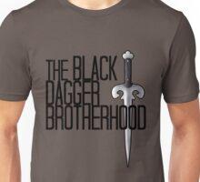 The BLACK DAGGER BROTHERHOOD   [black text] Unisex T-Shirt