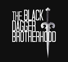 The BLACK DAGGER BROTHERHOOD   [white text] T-Shirt