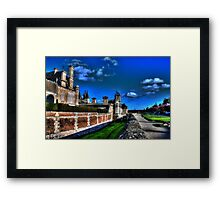 Chateau d'Anet Vibrant #1 Framed Print