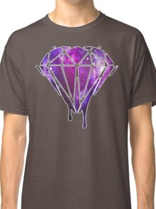 Melting Galaxy Diamond  Classic T-Shirt