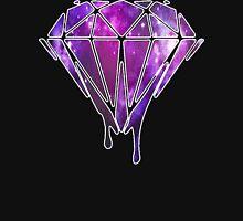 Melting Galaxy Diamond  Unisex T-Shirt
