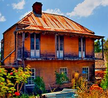 Ghost House - Sofala - NSW - Australia by Bryan Freeman