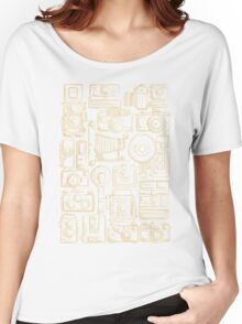 Paparazzi Beige Women's Relaxed Fit T-Shirt