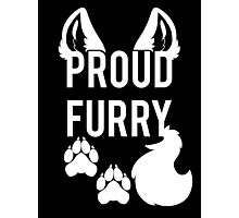 PROUD FURRY Photographic Print