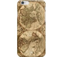 Ancient Map iPhone Case/Skin