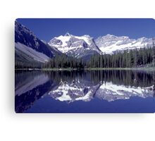 Marvel Lake in Banff National Park Canvas Print