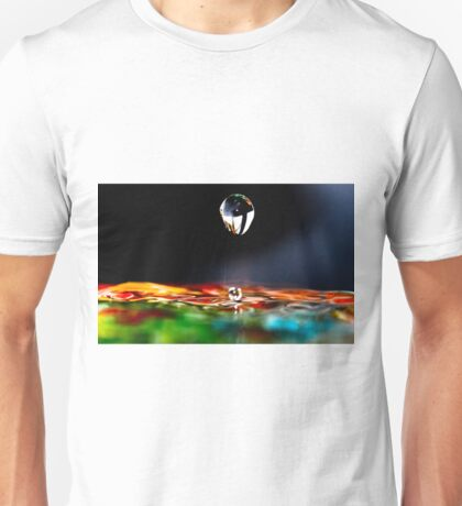 A drip is a drop and a drop is water and water is nature and nature is beautiful. Unisex T-Shirt
