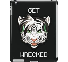 GET WRECKED - White Tiger iPad Case/Skin