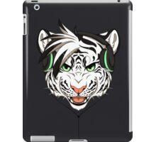 Headphone White Tiger iPad Case/Skin