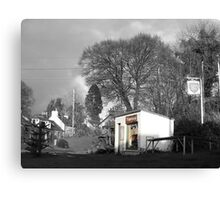 The Village Garage Canvas Print