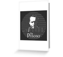 The Prisoner Greeting Card