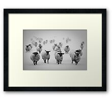 The Bleakness of Winter Framed Print