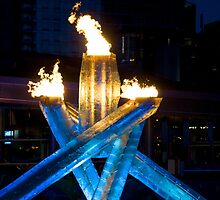Olympic Cauldron  by titus