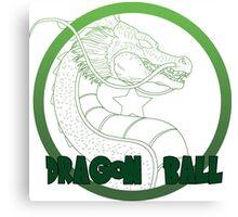 Dragon Ball -Mortal kombat logo style Canvas Print