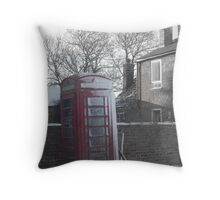 Rural Life Roundabout Throw Pillow