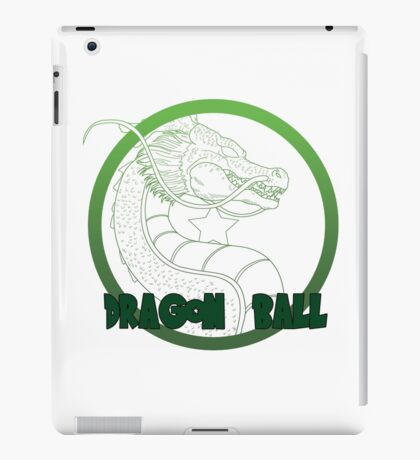 Dragon Ball -Mortal kombat logo style iPad Case/Skin