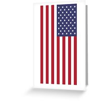USA - American Flag - iPhone Phone Cover Greeting Card