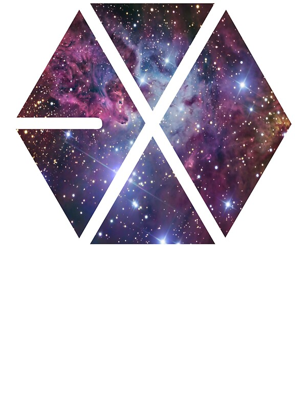 Quot Exo Nebula Quot Stickers By 3rystal Redbubble