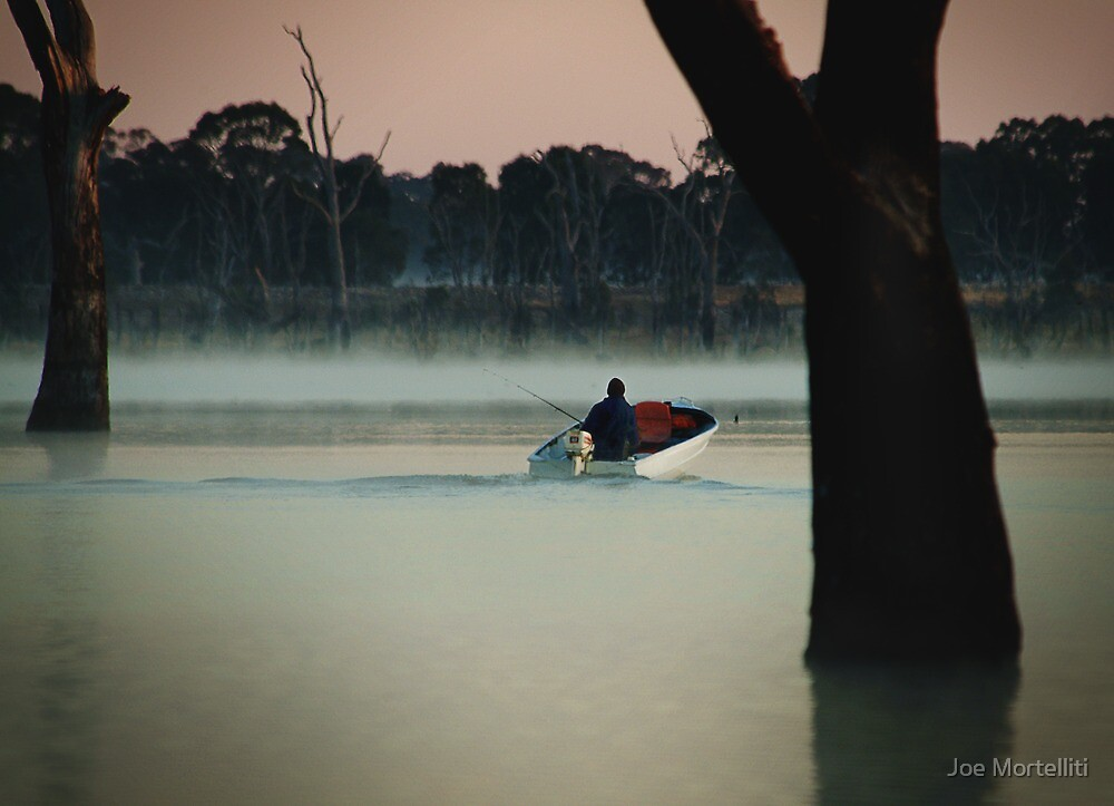 Heading Out,Going Fishing,Lake Fyans by Joe Mortelliti