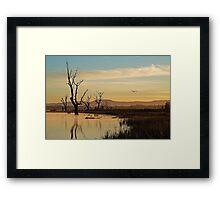 Flight, Lake Fyans, Grampians Framed Print