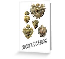 RECONNAISSANCE (gold) Greeting Card