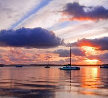 Victoria Point Sunrise by Beth  Wode