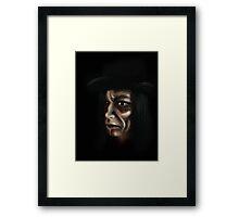my son the reaper Framed Print