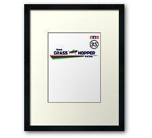 Team Grass Hopper Racing Framed Print