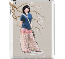 Sakura Girl iPad Case/Skin