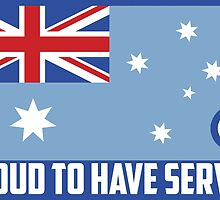 RAAf Proud to have Served by SpadixDesign